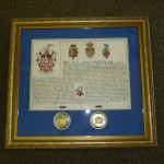 Certificates Fleming Charter framing 1 (2)